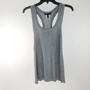 BCBG Maxazria Gray Liza Essential Knit Tank Top